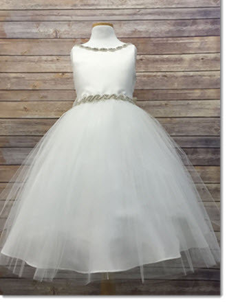 EK 05 RN First Communion or Flower Girl Dress