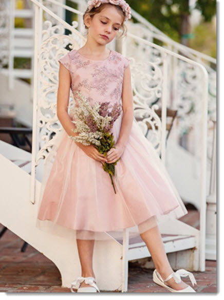 EK 68 Silk and Tulle dress