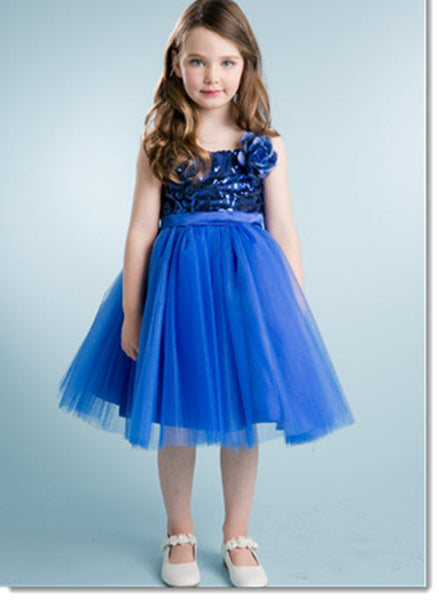 EK 31  -  Floral sequin bodice with tulle skirt