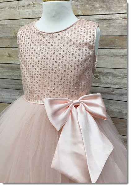 EK 32 - Sequin bodice Flower Girl Dress