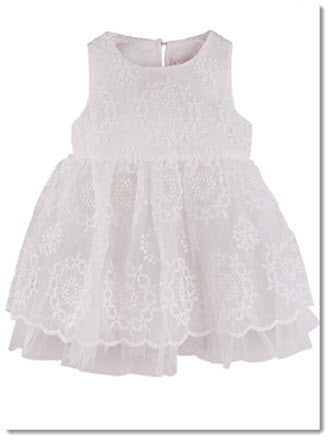 D1022 Elise Lace Dress - Little Angels Couture - 1