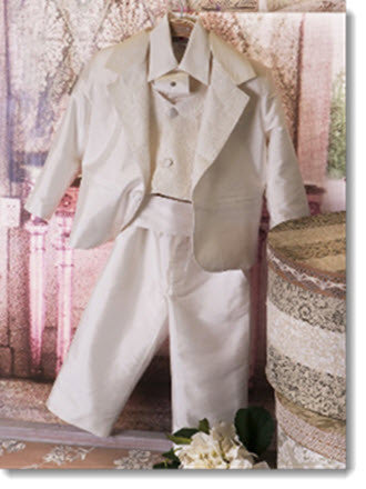 G 1014 Boys Silk Suit - Little Angels Couture - 1
