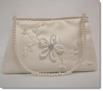 Satin Communion Bag (6065) - Little Angels Couture - 2