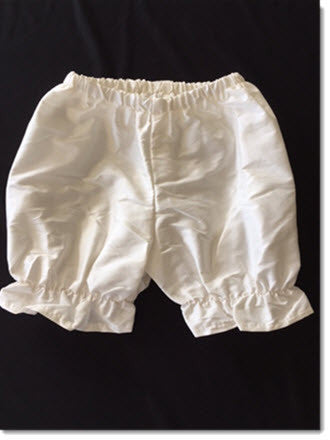 Ivory Silk Bloomers