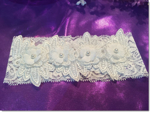 Kate - Ivory Christening Headband