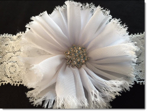 LAC 01 Christening Headband