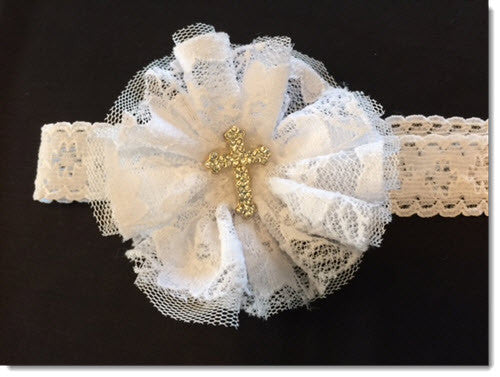 LAC 03 Christening Headband