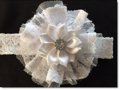 LAC 05 Christening Headband