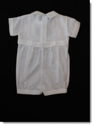 77300 Will'Beth Linen Romper - Little Angels Couture - 3