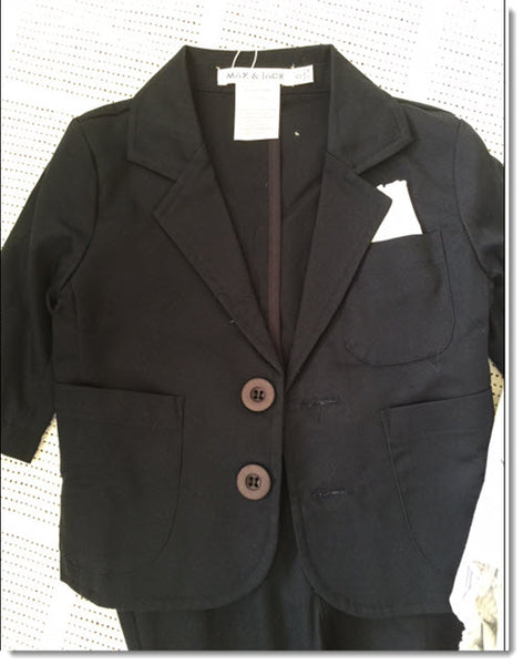 Max and Jack Four Piece Suit