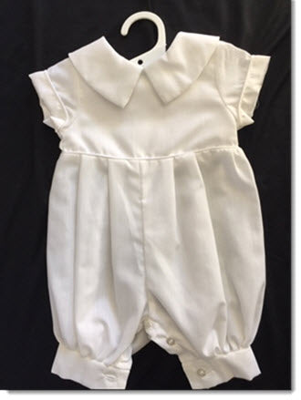 Pipo B - polycotton Christening Romper