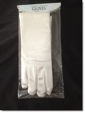 A80 Satin Glove - Little Angels Couture