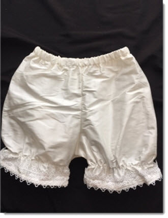 Silk Bloomers with lace