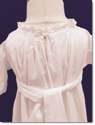 Stunning Antique gown circa 1901-1919 - Sale - Little Angels Couture - 5