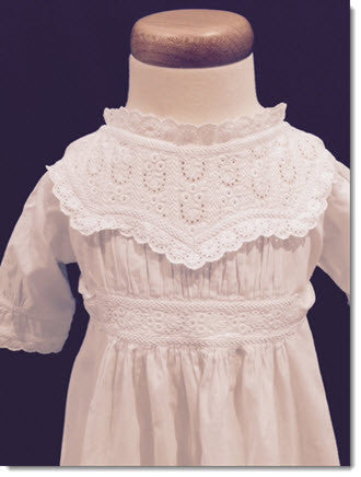 Stunning Antique gown circa 1901-1919 - Sale - Little Angels Couture - 1