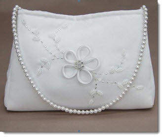 Satin Communion Bag (6065) - Little Angels Couture - 1