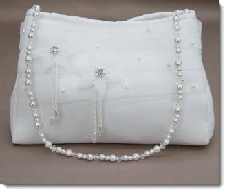 Satin Communion Bag - 6063