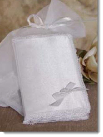 Bible with Matte Satin Cover and organza bag - Little Angels Couture
