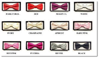 Boys Boxed Bow Tie - Little Angels Couture - 2