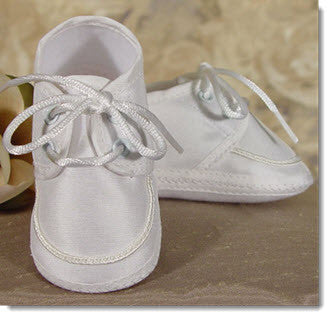 Boys Silk Dupion Shoe - Little Angels Couture