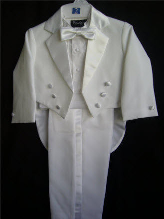 Boys 5 Piece Tuxedo - Little Angels Couture - 1