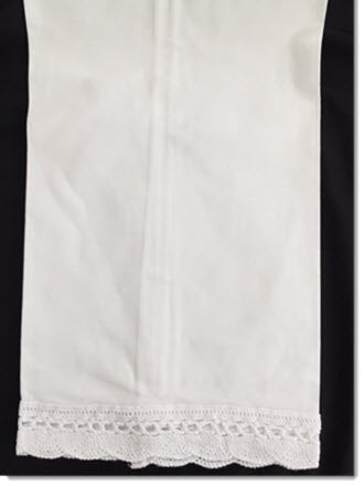 Cotton Scalloped Fan Edge Towel