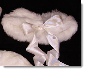 Fur Wrap - Little Angels Couture