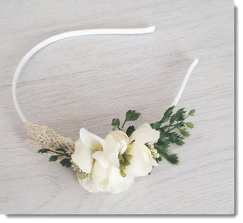 FE Grace Satin Headband