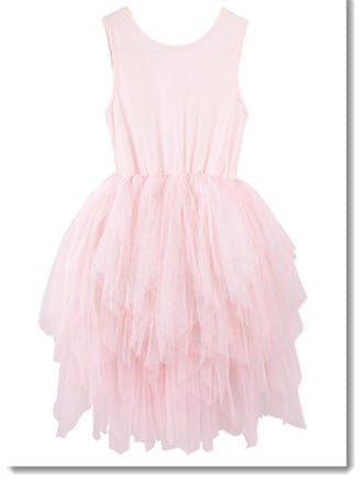 Melody Tulle Dress - Petal