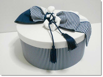 Christening Box -Nautical - Little Angels Couture - 1