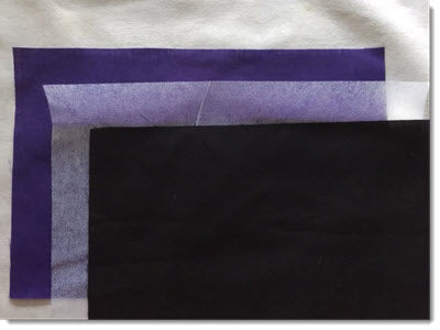 Purple and Black Reversible Face Mask