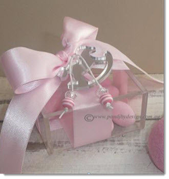 PJFBC1- Acrylic Box mirror rocking horse and beads. - Little Angels Couture