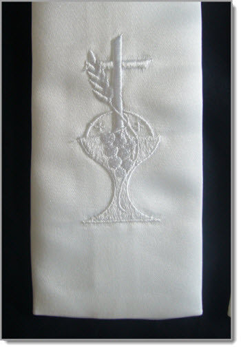 Stole with Chalice & Cross - Little Angels Couture - 2