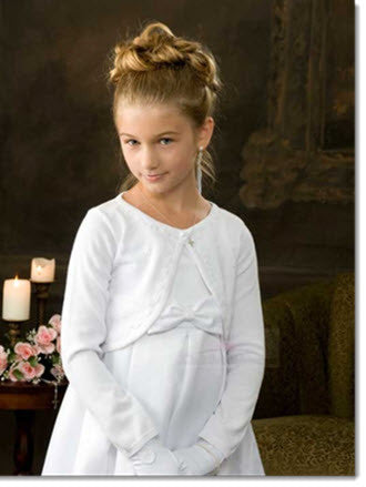 Girls Sweater Bolero