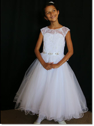 3036 Sweetie Pie  Communion or Flower Girl Dress