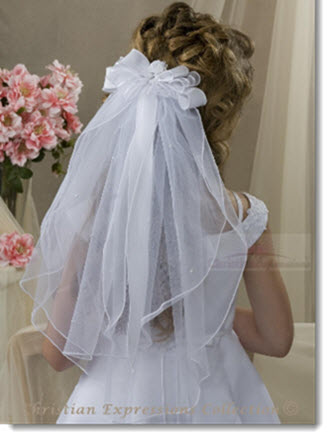 829 First Communion Veil