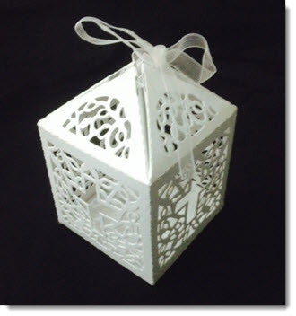 Filigree Cross Box