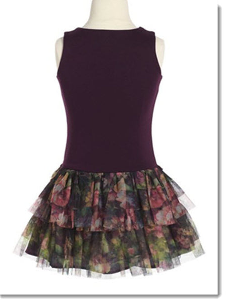 901 Floral Print Drop Waist Dress - Little Angels Couture - 2