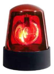 Police Beacon Red PL-1R