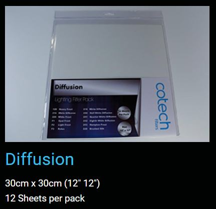 DIFFUSION COTECH FILTERS GEL Pack