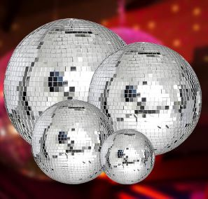 "12"" MIRROR BALL MB12"