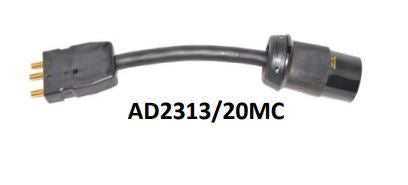 AD2313/20MC ADAPTER-HUBBELL L5-20 FEMALE