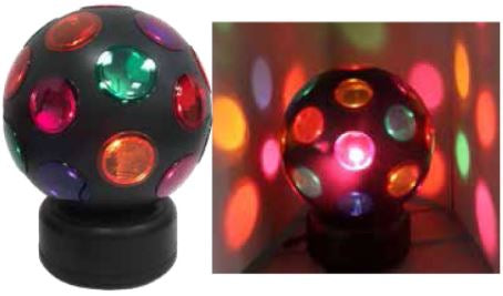 "Giant Rotating 8"" Disco Ball V0207"