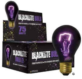 75 Watt Blacklight Bulb in a Display Carton BL75-PDQ