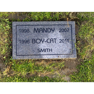 Regular-Plot Burial Maintenance-Services-Annual Maint - $75-Sorrento Valley Pet Cemetery