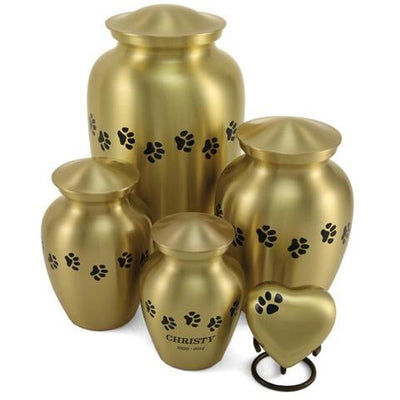 Classic Paws Bronze-Urns-Petite (25)-Sorrento Valley Pet Cemetery