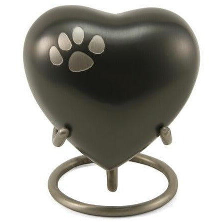 Classic Paw Slate Heart Keepsake-Memorials-Sorrento Valley Pet Cemetery