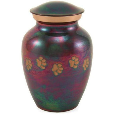 Classic Paws Raku-Urns-Petite (25)-Sorrento Valley Pet Cemetery