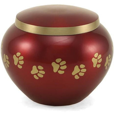 Odyssey Crimson-Urns-Small-Personalize-Sorrento Valley Pet Cemetery