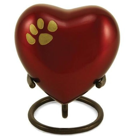 Odyssey Crimson Heart Keepsake-Memorials-None-Sorrento Valley Pet Cemetery